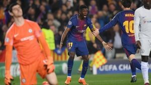 Messi shows no mercy to Blues