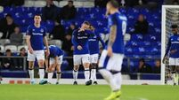 Everton thrashed 5-1 by Atalanta at less-than-half-full Goodison Park