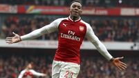 All's well again for Danny Welbeck