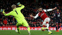 Arsenal up the gears to blow Huddersfield away