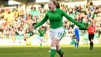 Amber Barrett keeps Ireland's World Cup dream alive