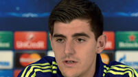 Antonio Conte wary of an Arsenal situation over Thibaut Courtois