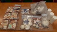 €275,000 in cash, cocaine and cannabis seized in Dublin