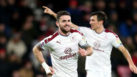 Robbie Brady strikes as Burnley ruin Eddie Howe's birthday party