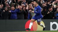 Eden defiant as Chelsea miss out on top spot