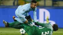Shakhtar Donetsk put the brakes on Manchester City's winning streak