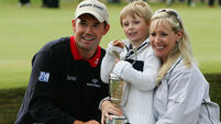 Pádraig Harrington's ladybird kid now ready to write his own adventure