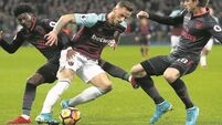 Wasteful Arsenal held by rejuvenated West Ham
