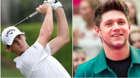 Golfer Thomas Pieters follows pop star Niall Horan's direction for contest format