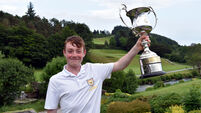 I'd play again tomorrow - if I didn't have the Junior Cert, says Senior Scratch Cup champ