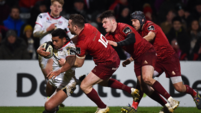 Depleted Reds left reeling as Ulster whip        up a storm