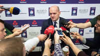 Gregor Townsend speaks to the media 24/1/2018