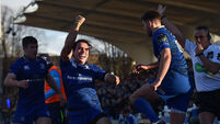 Smiling James Lowe lights up Leinster