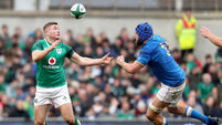 Ever wonder how much Italy bolsters Ireland's 6 Nations try-scoring ratio?