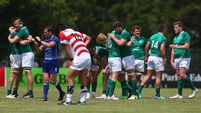 Irish rugby blushes saved by 11th-place play-off win