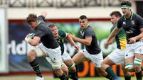 Baby Boks end Ireland's World Cup hopes
