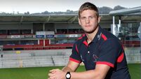 Ulster star Chris Henry recalls shock of suffering stroke