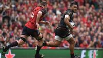 Billy Vunipola kicks latest injury to touch with Aussie Rules ball