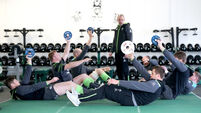 Ireland stars stay quiet on the C-word
