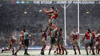 Ulster victory leaves Quins on precipice