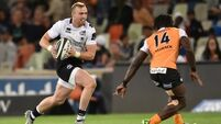 Gaffney grabs Zebre chance with both hands