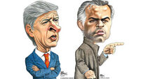 Arsenal and Man United's great managerial divide
