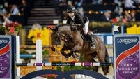 Show jumping awaits competition body ruling