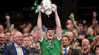 One hurler's achievement becomes another's aspiration