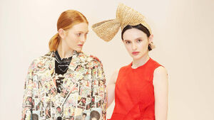 Fashion showcase blasts touch of colour and florals into winter chill