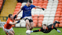 Armagh's escape to victory leaves Denis Connerton fuming