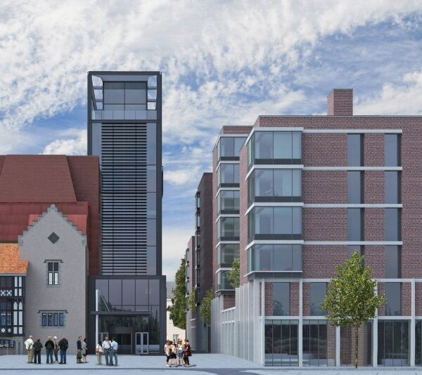 The proposed student accommodation at 'Brewery Quarter' on the former Beamish site in Cork.