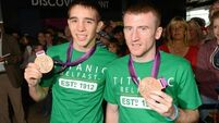 Belfast boxers pay tribute to fans