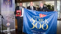 Prince Albert of Monaco assisting in Cork Yacht Club anniversary celebrations