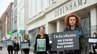 Debenhams workers call for liquidation to be delayed as protests continue