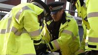 UK police officer suspended over race 'abuse'