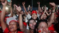 Jubilation as Suu Kyi wins seat