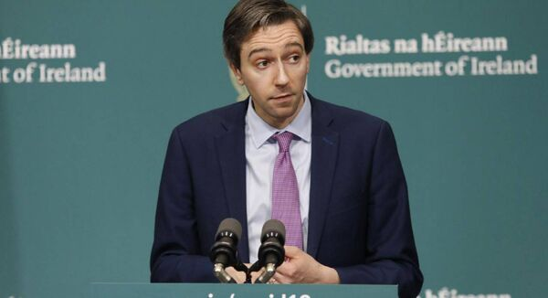 Minister for health Simon Harris at Government Buildings, Dublin (Leon Farrell/Photocall Ireland/PA Wire)
