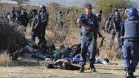 No sackings as South Africa mourns miners