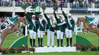 Ireland's show-jumpers win Aga Khan trophy