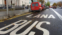 Figures show big rise in drivers caught using bus lanes in Dublin