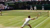 Murray falls to Wimbledon king Federer