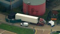 Lawyers for haulier linked to migrant deaths argue some alleged offences occurred outside UK