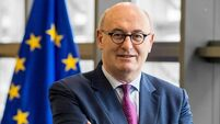 Phil Hogan: UK will blame Brexit 'fallout' on Covid-19