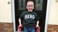 Brave Cork boy Oliver begins another 5k fundraising challenge