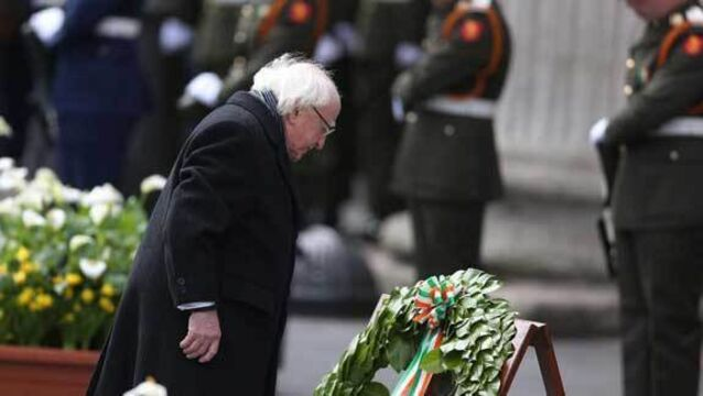 Michael D Higgins to take part in Easter Rising commemoration event