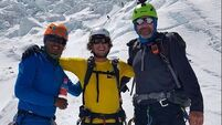 Adventurer pays tribute to Irish man who lost his life on Everest
