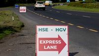 'Express lane' set up for frontline HSE workers at Covid-19 checkpoint