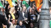 Supporters of John Waters and Gemma O'Doherty refused entry to court hearing