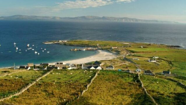Arranmore Island off the coast of Donegal, which has a population of around 500 people, have shut themselves off from the mainland. File picture.