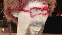'Gone beyond a joke': Luke Kelly statue vandalised for fourth time